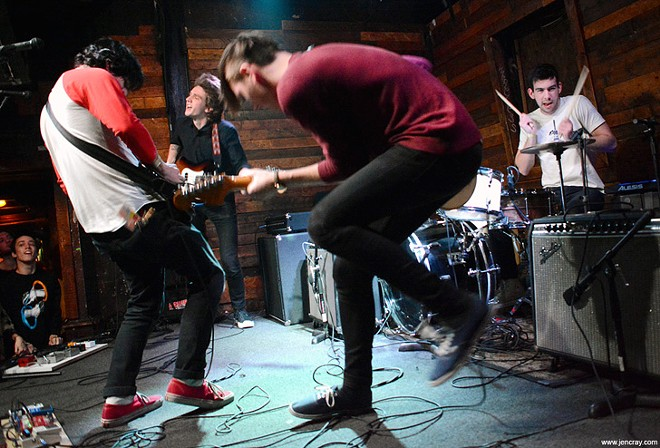 The Frights at Backbooth - JEN CRAY