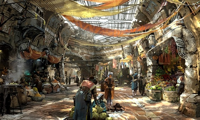 Black Spire Outfitters - IMAGE VIA DISNEY