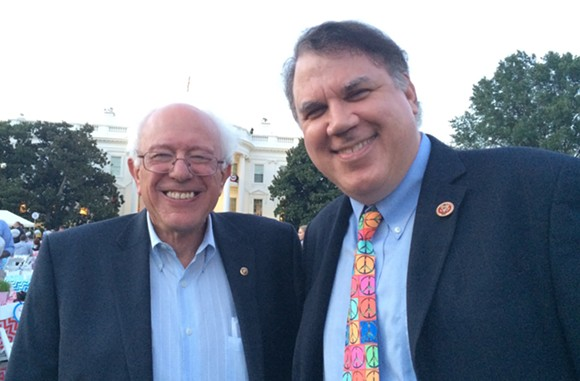 PHOTO VIA ALAN GRAYSON FOR U.S. SENATE CAMPAIGN
