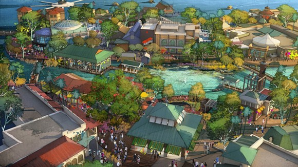 A new rendering of what Disney has in store for Disney Springs - WALT DISNEY CO.