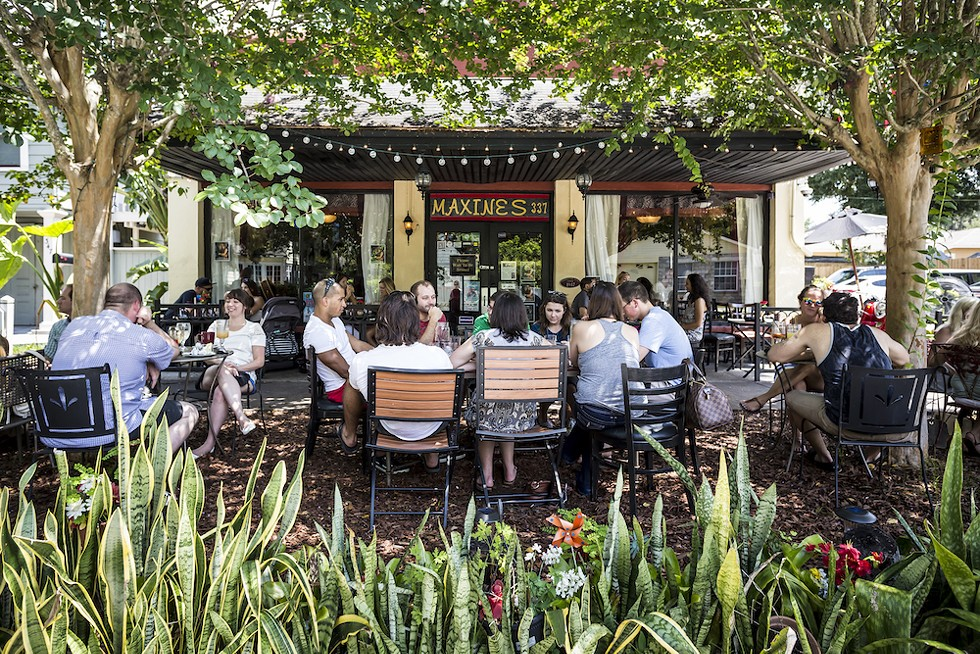 Alfresco brunch at Maxine's on Shine - PHOTO BY ROB BARTLETT