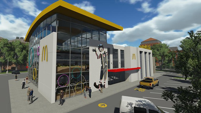 the new world s largest entertainment mcdonald s is set to reopen