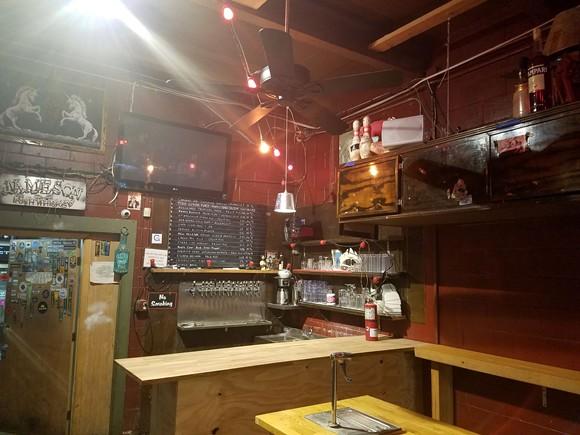 The old bar - PHOTO BY THADDEUS MCCOLLUM