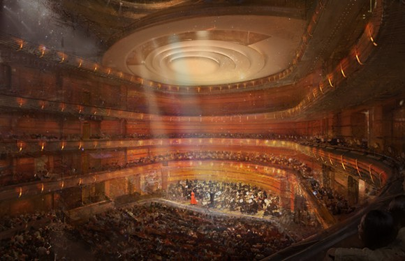 STEINMETZ HALL RENDERING COURTESY DR. PHILLIPS CENTER
