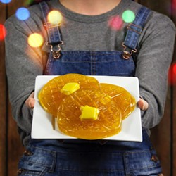 The Stranger Things gummy waffle - PHOTO VIA IT'SUGAR/FACEBOOK