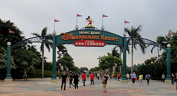 Hong Kong Disneyland - PHOTO VIA WIKIPEDIA