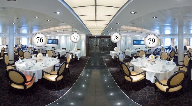 Pixvana's new TableVision VR program for Seabourn - PHOTO VIA PIXVANA