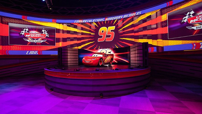 Lightning McQueen's Racing Academy at DHS - PHOTO VIA DISNEY