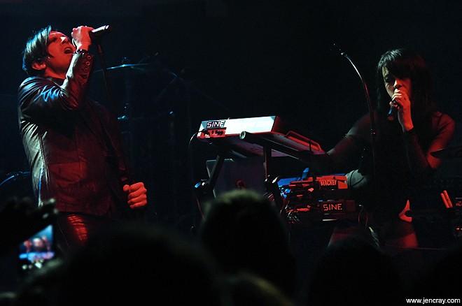Curse Mackey and Sine at the Plaza Live - JEN CRAY