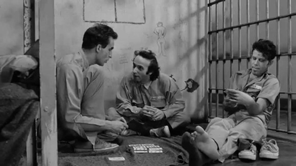 John Lurie, Tom Waits and Roberto Benigni in Down By Law - IMAGE VIA MORE THAN A EVENT PAGE