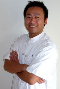 Chef Junichi Takazoe - PHOTO COURTESY JIMOTTI'S RESTAURANT