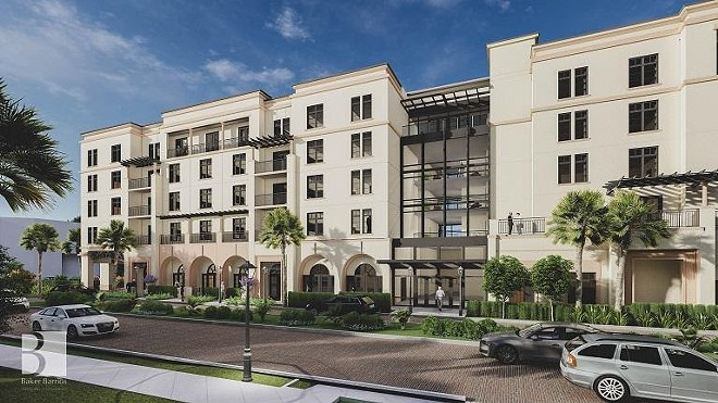A rendering by Baker Barrios Architects of the planned expansion at The Alfond Inn. - PHOTO VIA THE ALFOND INN