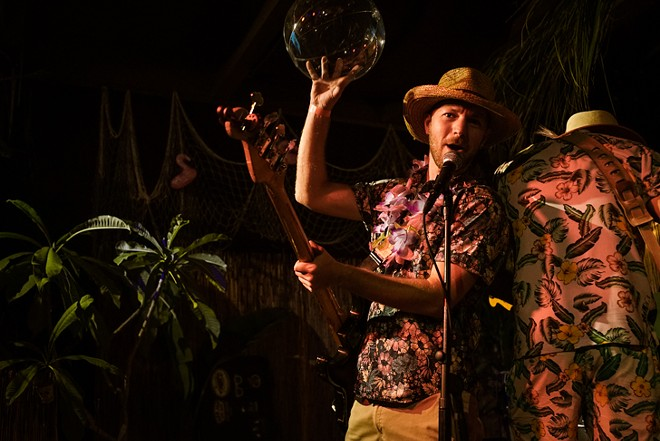 The Sh-Booms at Will's Lil' Tiki Party (Will's Pub) - MIKE DUNN
