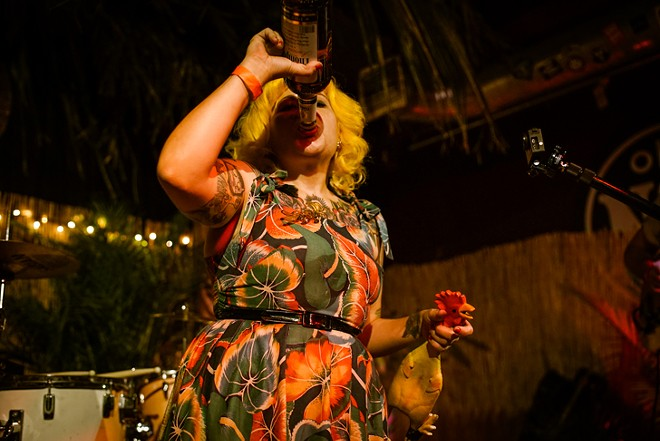 The Wildtones at Will's Lil' Tiki Party (Will's Pub) - MIKE DUNN