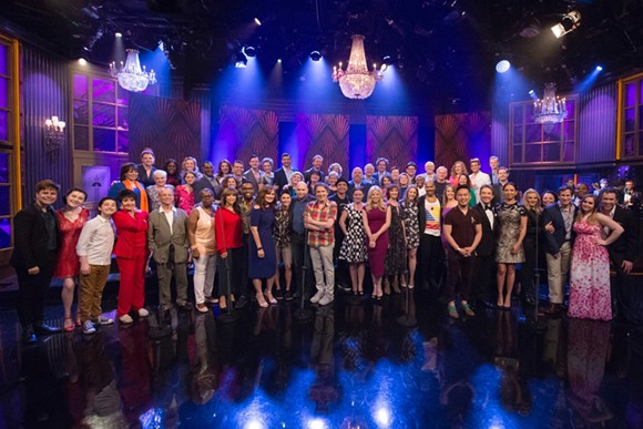 PHOTO BY VIRGINIA SHERWOOD/NBC VIA BRIAN STOKES MITCHELL/FACEBOOK