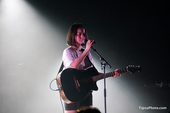 Mitski at the Plaza Live - MICHAEL LOTHROP