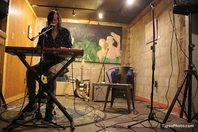 Ken Stringfellow at Lil Indies - MICHAEL LOTHROP