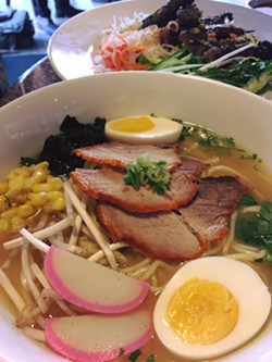 Ramen and vermicelli bun at Sodo Sushi - IMAGE VIA SODO SUSHI ON FACEBOOK
