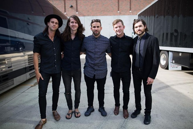 PHOTO COURTESY OF MAYDAY PARADE/FACEBOOK