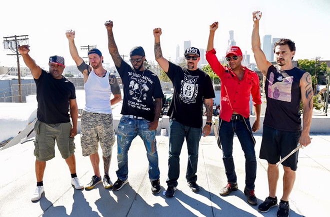 PHOTO VIA PROPHETS OF RAGE/FACEBOOK