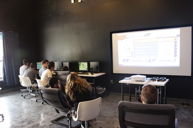 The main area has video games for kids to play, as well as workshops in the future. - PHOTO COURTESY JARLEENE ALMENAS