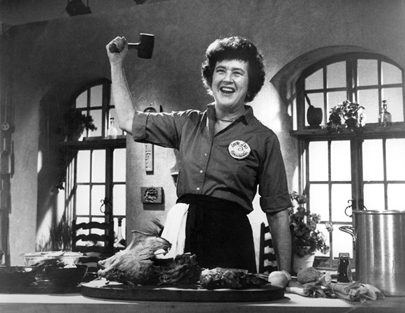 Celebrate the 104th birthday of this kitchen genius with an eight-course wine dinner Monday, Aug. 15