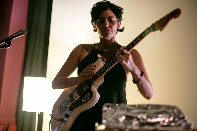Ava Mendoza at the Gallery at Avalon Island - LIV JONSE