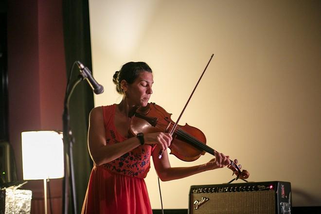 Jessica Pavone at the Gallery at Avalon Island - LIV JONSE
