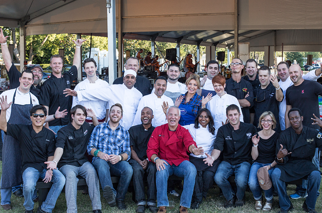 Last year's participating Cows N Cabs chefs - PHOTO VIA COWSNCABS.COM
