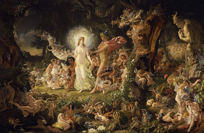 """The Quarrel of Oberon and Titania"" - SIR JOSEPH NOEL PATON"
