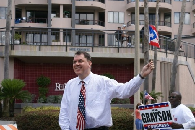 PHOTO VIA ALAN GRAYSON'S FACEBOOK