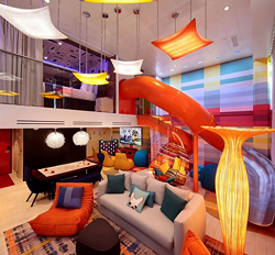 The Ultimate Family Suite on the Symphony of the Seas - IMAGE VIA ROYAL CARIBBEAN