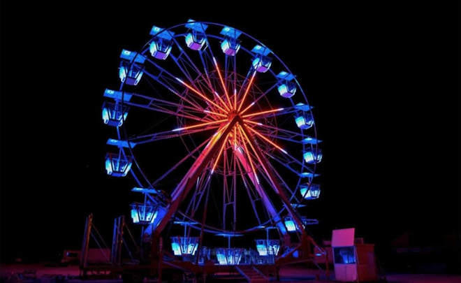 The new Ferris Wheel coming to Fun Spot - PHOTO VIA FUN SPOT