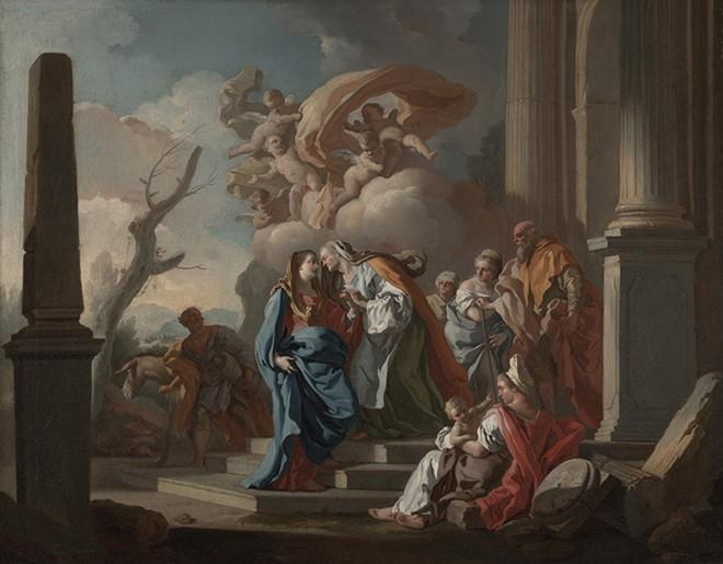 """""""The Visitation"""" - FRANCESCO DE MURA"""