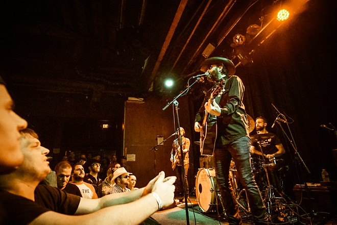 Wheeler Walker Jr. at the Social - MIKE DUNN