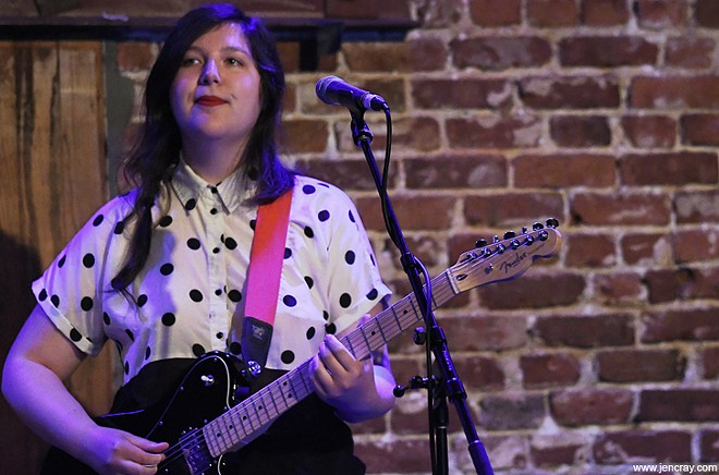 Lucy Dacus at the Social - JEN CRAY