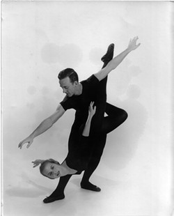 Poole as a young dancer. - PHOTO COURTESY OF JIM TUSHINSKI