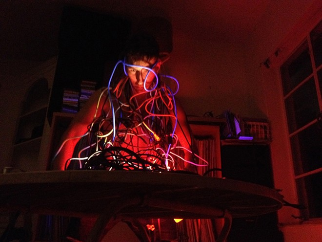 """Drum Machine Circle"" from Art in Odd Places - GREG LIEBOWITZ"