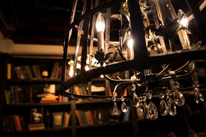 Antique chandelier - GIDEON'S BAKEHOUSE