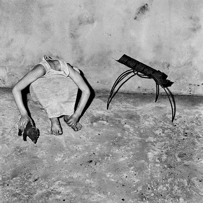 """Head Inside Shirt,"" 2001 - ROGER BALLEN"