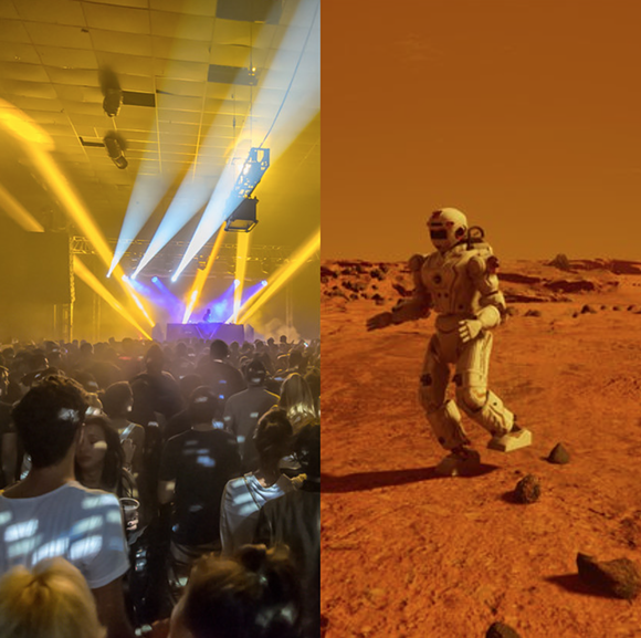 LEFT: IMAGE COURTESY OF III POINTS (IIIPOINTS.COM), RIGHT: IMAGE COURTESY OF FUSION (FUSION.NET)
