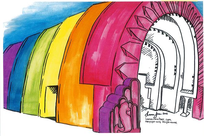 ILLUSTRATION BY LAUREN JANE GILMORE VIA CITY OF ORLANDO