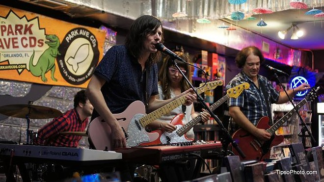 The Posies secret pop-up show at Park Ave CDs - MICHAEL LOTHROP
