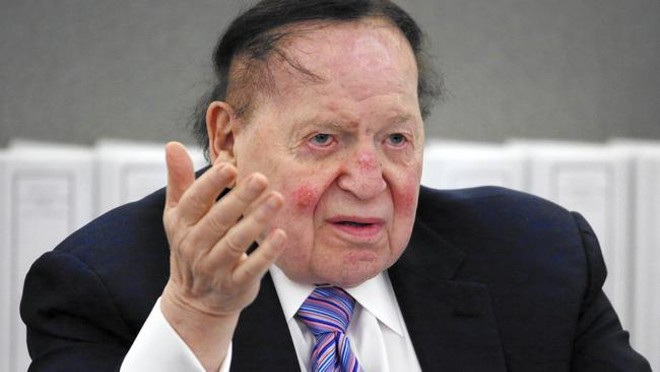 Sheldon Adelson - VIA MERRYJANE.COM