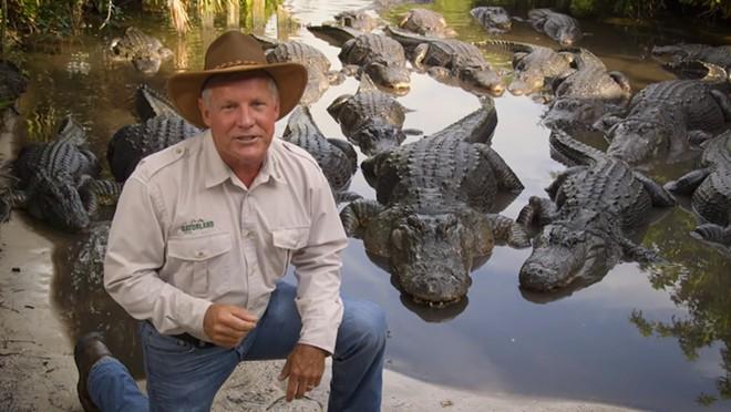 Gatorland CEO Mark McHugh - IMAGE VIA GATORLAND ON YOUTUBE