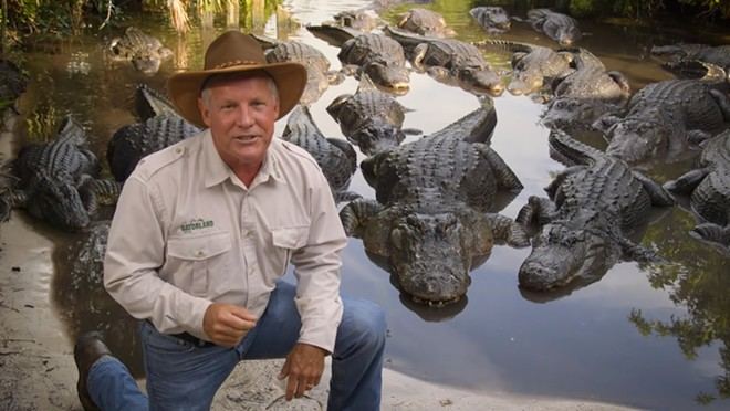 Gatorland CEO Mark McHugh - IMAGE VIA GATORLAND ON YOUTUBE