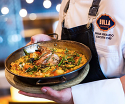 Paella Valenciana at Bulla. - @BULLAGASTROBAR ON INSTAGRAM