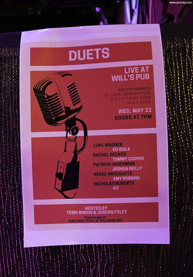 Terri Binion's Duets at Will's Pub - JEN CRAY