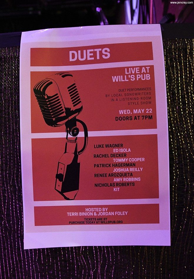 Terri Binion's Duets at Will's Pub - JEN CRAY