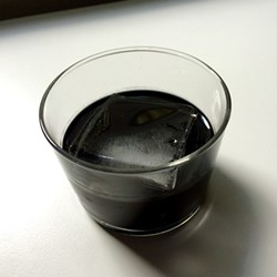 Blackest Russian cocktail - PHOTO BY JESSICA BRYCE YOUNG
